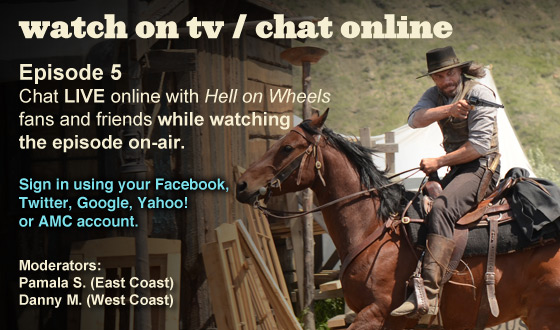 Chat Online While Watching Season 2 Episode 5 on TV This Sunday Night
