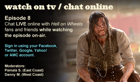 Chat Online While Watching Season 2 Episode 8 on TV This Sunday Night