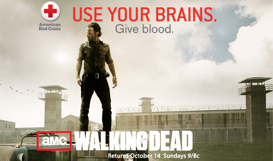 AMC&#8217;s <em>The Walking Dead</em> and the American Red Cross Partner to Help Save Lives