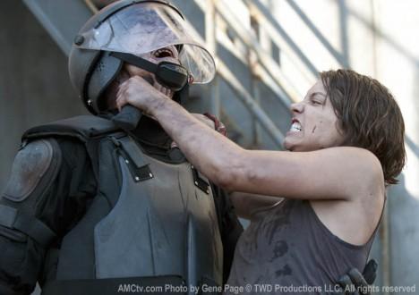 Maggie Greene (Lauren Cohan) in Episode 1 of The Walking Dead