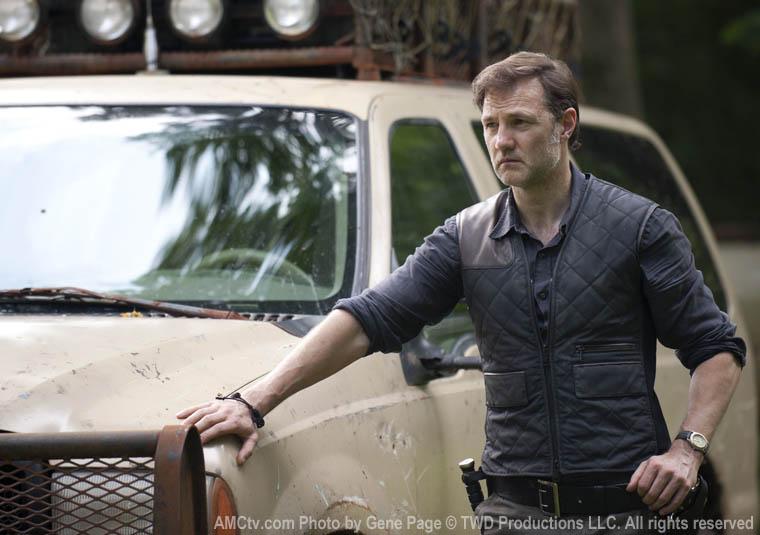 The Governor (David Morrissey) in Episode 3 of The Walking Dead