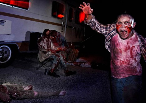 The Walking Dead at Universal