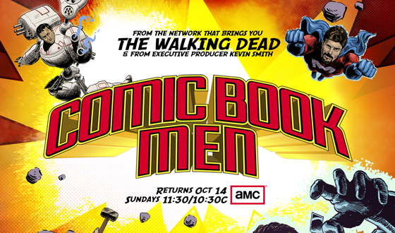 <em>Comic Book Men</em> Season 2 Poster Revealed