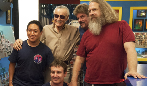 Submit Your Questions for an Online Interview with <em>Comic Book Men</em> Guest Star Stan Lee