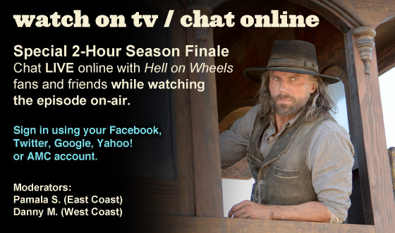 Chat Online While Watching the Season 2 Finale on TV This Sunday Night