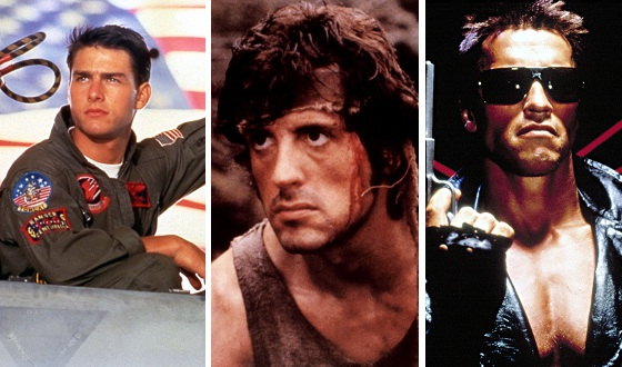 <em>Top Gun, First Blood, Terminator</em> &#8211; Which &#8217;80s Action Pic Blasts the Competition? Vote Now!