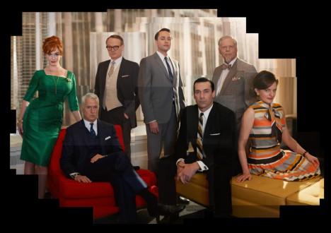 Mad Men Season 5 Studio Gallery Collages 1 - Mad Men Season 5 Cast Photo Collages