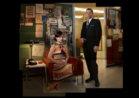 Mad Men Season 5 Studio Gallery Collages 3 - Mad Men Season 5 Cast Photo Collages