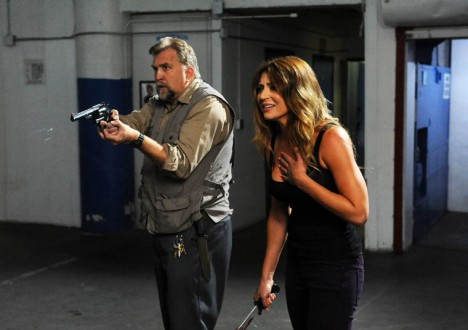 B.J. (Daniel Roebuck) and Kelly (Cerina Vincent) of The Walking Dead Webisode Cold Storage