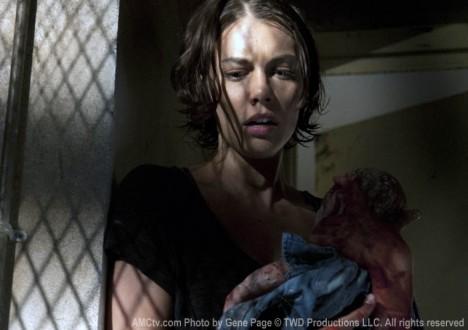 Maggie Greene (Lauren Cohan) in Episode 4 of The Walking Dead