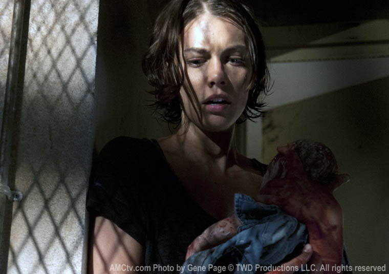 Maggie Greene (Lauren Cohan) in Episode 4 of The Walking Dead