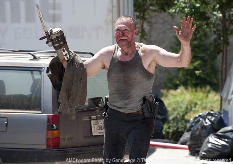 Merle Dixon (Michael Rooker) in Episode 6 of The Walking Dead