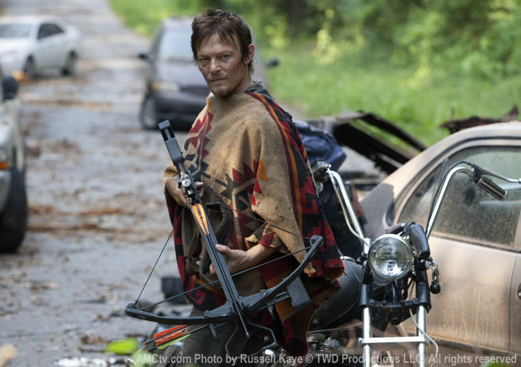 Daryl Dixon (Norman Reedus) in Episode 5 of The Walking Dead