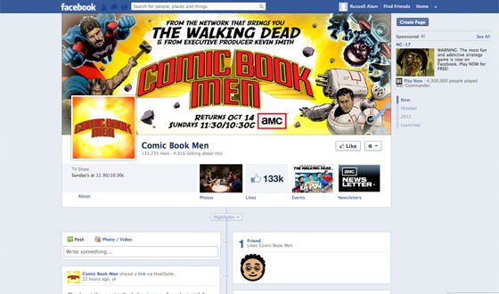 Love <em>Comic Book Men</em>? Like It on Facebook and Follow It on Twitter
