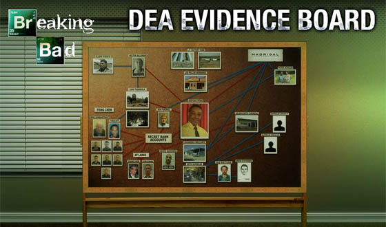 What&#8217;s Got Your Attention in the DEA Interactive Evidence Board for <em>Breaking Bad</em>