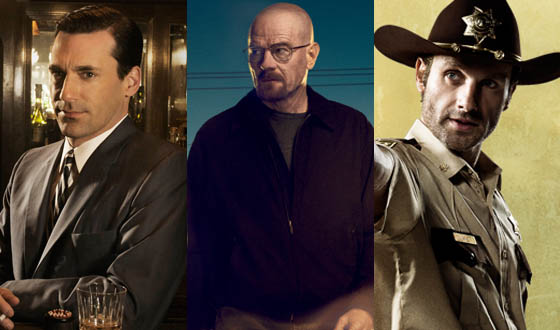 <em>Mad Men</em>, <em>Breaking Bad</em> and <em>The Walking Dead</em> Among AFI&#8217;s Top 10 TV Shows of 2012