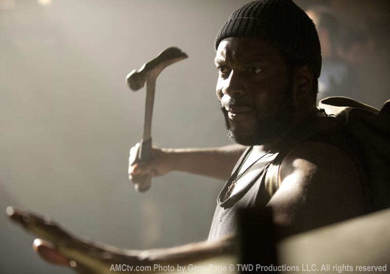 Tyreese (Chad L. Coleman) in Episode 8 of The Walking Dead