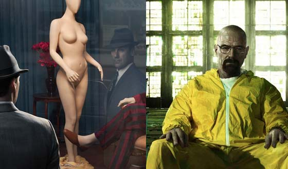 AMC Receives Three Golden Globe Nominations for <em>Mad Men</em> and <em>Breaking Bad</em>