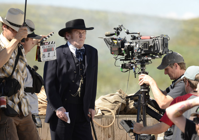 Hell on Wheels Season 2 Behind the Scenes Photos 14 - Hell on Wheels Season 2 Behind the Scenes Photos