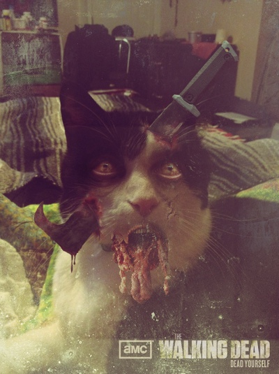 Zombified Pets in AMC's Dead Yourself App 10 - Zombified Pets in AMC's Dead Yourself App