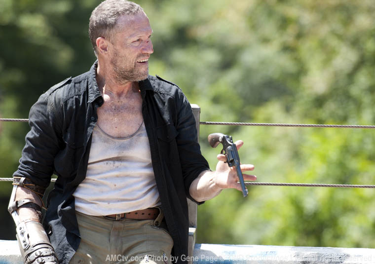 Merle Dixon (Michael Rooker) in Episode 10 of The Walking Dead
