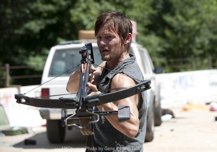 Daryl Dixon (Norman Reedus) in Episode 10 of The Walking Dead