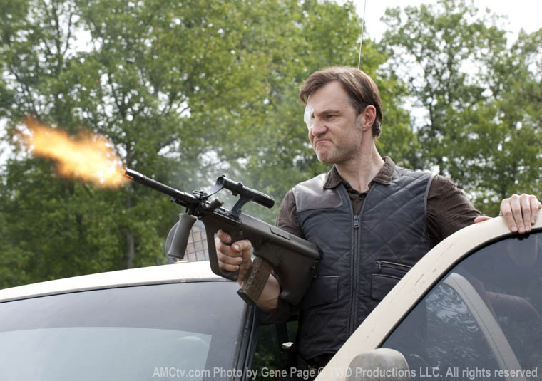 The Governor (David Morrissey) in Episode 10 of The Walking Dead