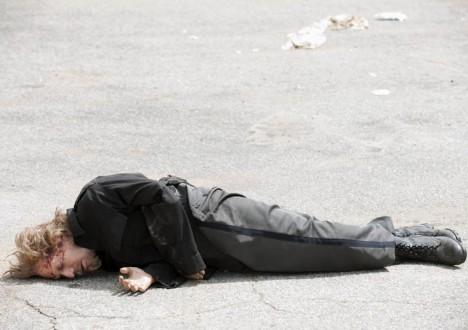 Axel (Lew Temple) in Episode 10 of The Walking Dead