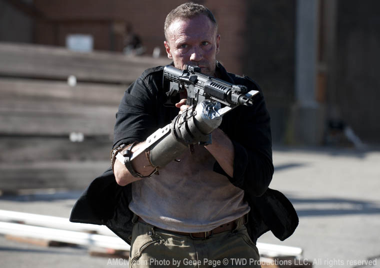 Merle Dixon (Michael Rooker) in Episode 11 of The Walking Dead