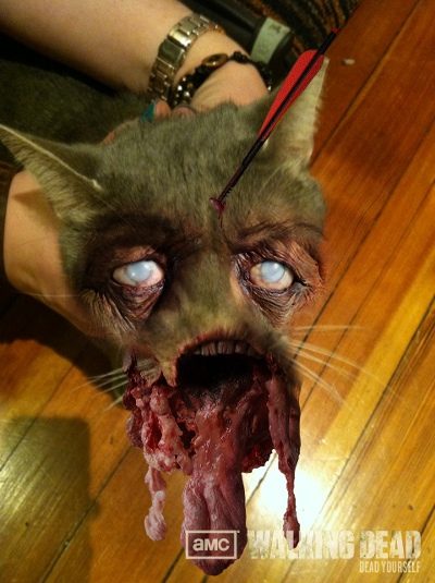 Zombified Pets in AMC's Dead Yourself App 6 - Zombified Pets in AMC's Dead Yourself App