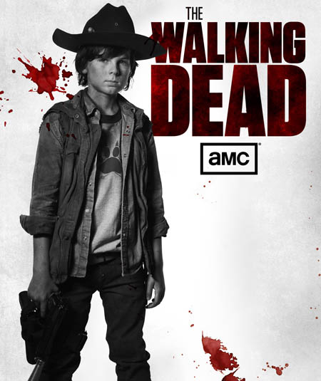 Carl Grimes (Chandler Riggs) of The Walking Dead