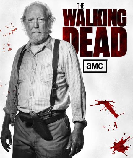 Hershel Greene (Scott Wilson) of The Walking Dead