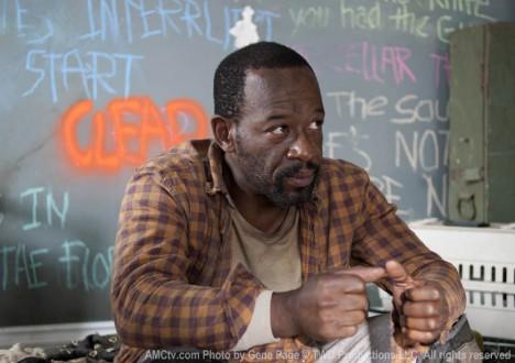 Morgan Jones (Lennie James) in Episode 12 of The Walking Dead