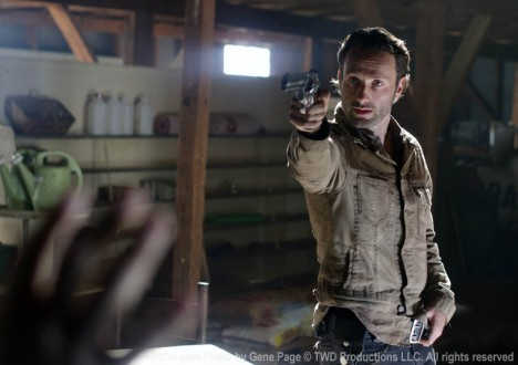 Rick Grimes (Andrew Lincoln) of The Walking Dead