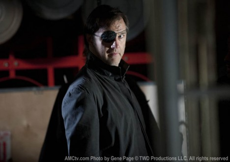 The Governor (David Morrissey) in Episode 14 of The Walking Dead