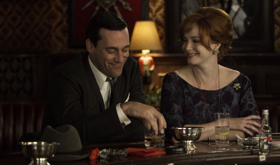 Jon Hamm Drops Hints About Season 6; <em>People</em> Chats With Christina Hendricks