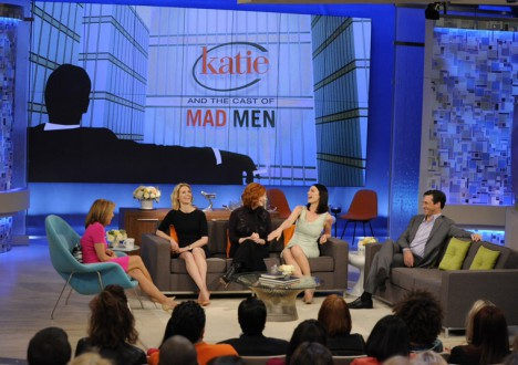 Mad Men Cast on Katie 2 - Mad Men Cast on Katie