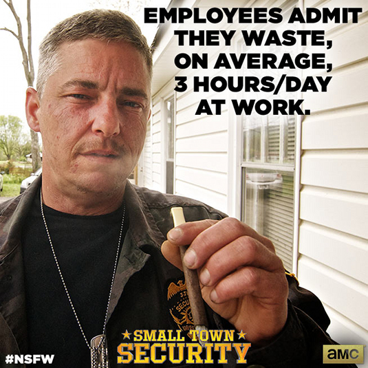 Small Town Security NSFW Workplace Statistics 3 - Small Town Security NSFW Workplace Statistics