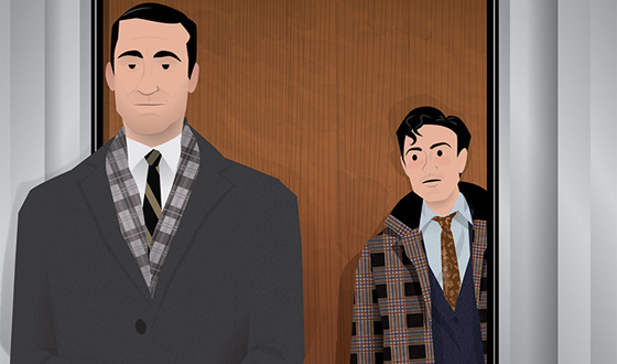 Dyna Moe&#8217;s <em>Mad Men</em> Illustrations Give a Snapshot Recap of Season 5