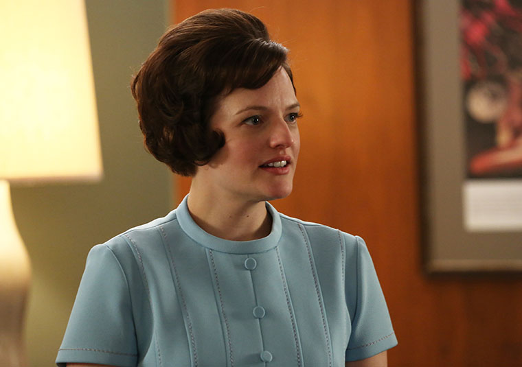 Peggy Olson (Elisabeth Moss) in Mad Men