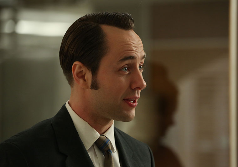 Pete Campbell (Vincent Kartheiser) in Mad Men