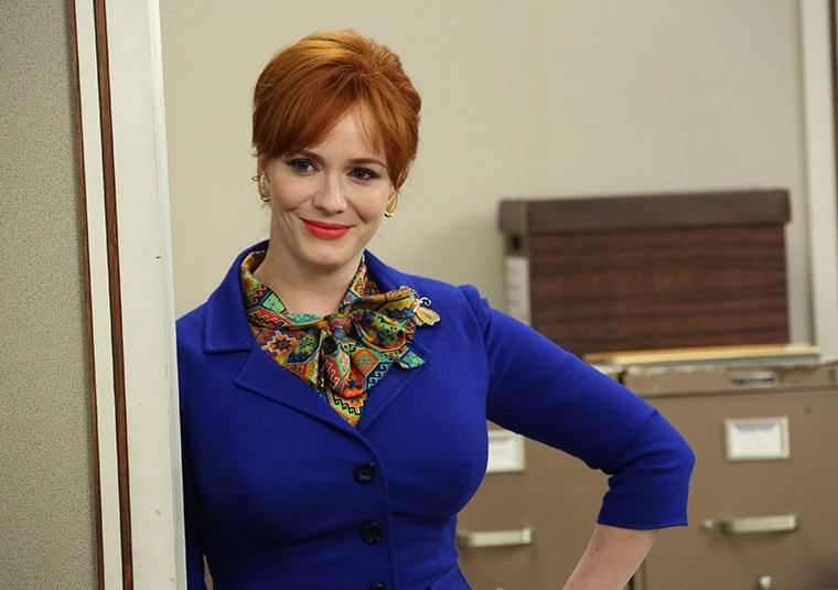 Joan Harris (Christina Hendricks) in Mad Men