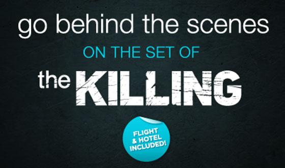 Enter This Sweepstakes for a Chance to Visit <i>The Killing</i> Set
