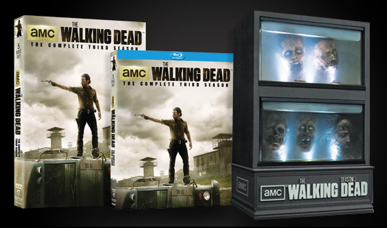 <em>The Walking Dead</em> &#8211; The Complete Third Season Available on DVD and Blu Ray Aug. 27