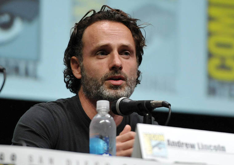 Andrew Lincoln (Rick Grimes) of The Walking Dead