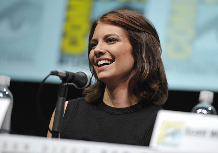 Lauren Cohan (Maggie Greene) of The Walking Dead