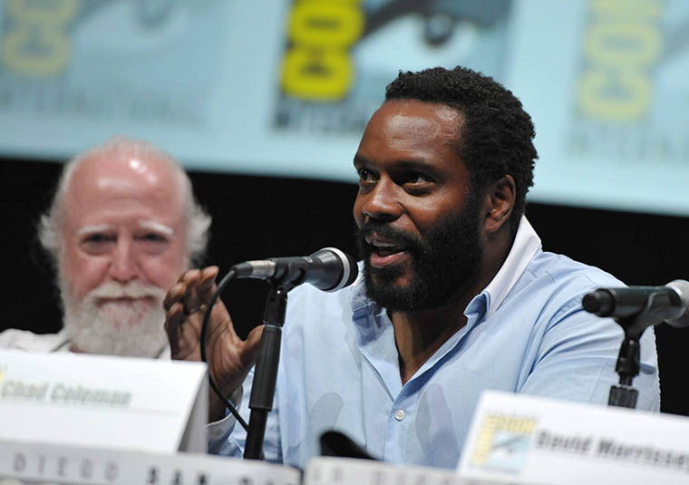 Scott Wilson (Hershel Greene) and Chad L. Coleman (Tyreese) of The Walking Dead