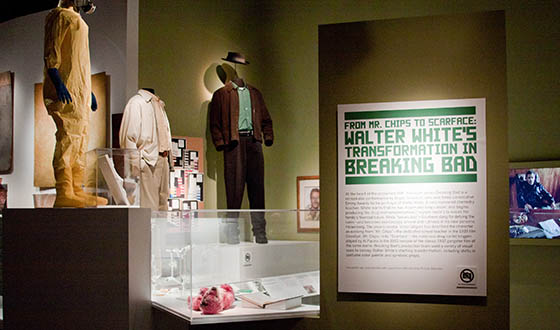 Photos &#8211; <em>Breaking Bad</em> Exhibit at New York&#8217;s Museum of Moving Image