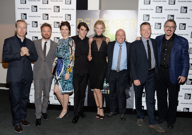 Breaking Bad Final Episodes New York Premiere Party