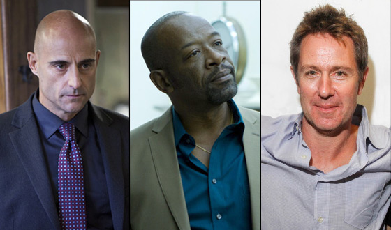 Mark Strong, Lennie James and Executive Producer Chris Mundy Live Tweet on Sunday